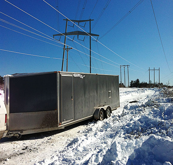 Snowmobilers assist help with power restoration