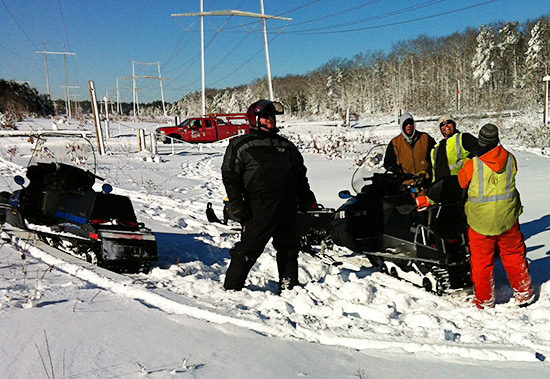 Snowmobile Association of Massachusetts assist after blizzard