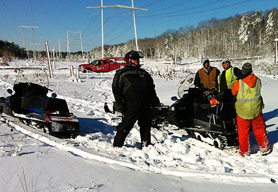 Snowmobile Association of Massachusetts assist after blizzard