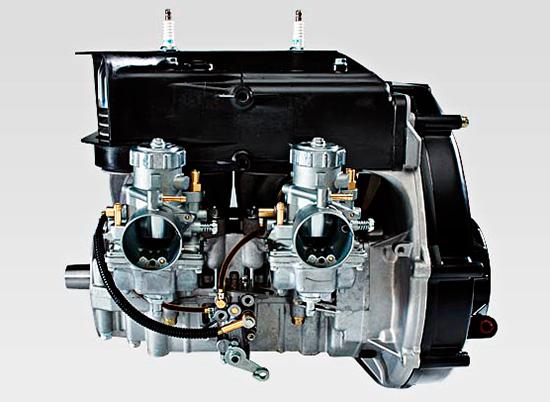 2014 Polaris 550 fan cooled engine
