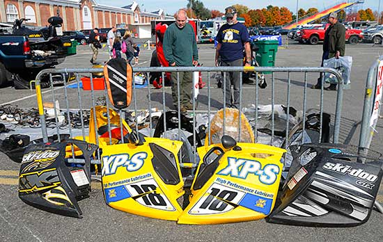 Snowmobile swap meet