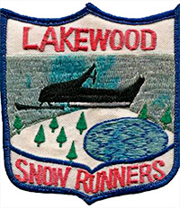Lakewood Snow Runners patch