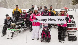 Snowmobile New Years 2013