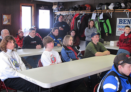 Snowmobile Association of Massachusetts safety course