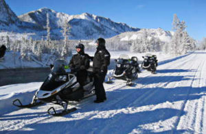 Yellowstone National Park snowmobile access