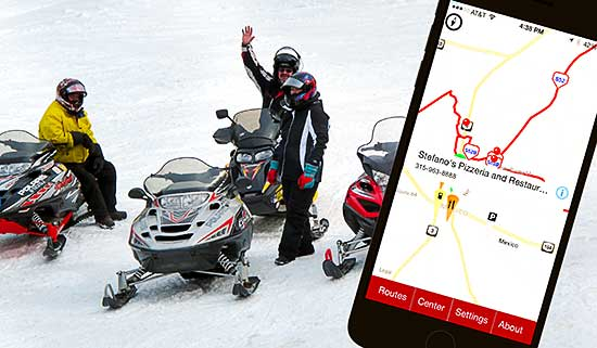 SledMass Trail Map app
