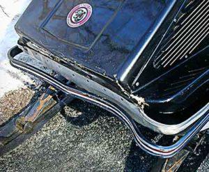 Carb Cable Blues smashed bumper