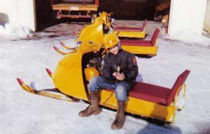 Doug Hayes, 1965 Ski-Doo