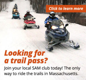 Get your MA snowmobile trail pass today