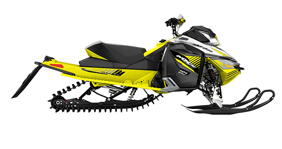 The 2017 Ski Doo Mxzx 600rs Racing Snowmobile Is Designed Specifically For North American Snocross Tracks Sled Features Revised Clutching