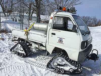4-wheel-drive Suzuki Carry Mini Truck