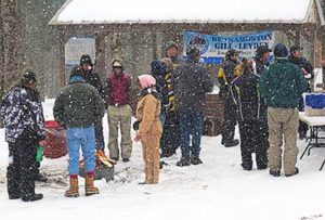 BGL Snowmobile Club holds winter BBQ.