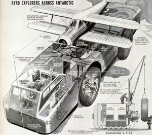 Snow Cruiser cutaway