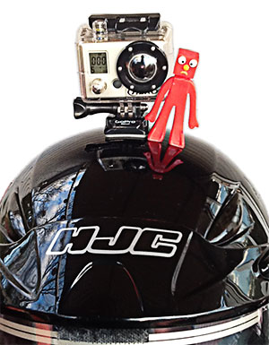Using the GoPro video camera