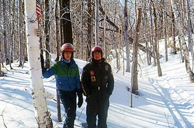 Stan Kopala and David Kopala at Mt Greylock