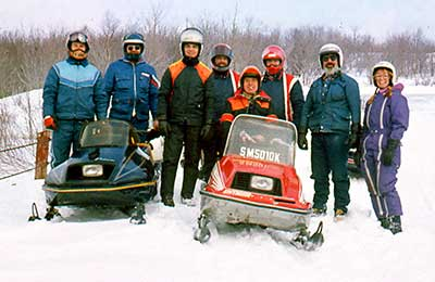 Stan Kopala with Snowmobile Association of Massachusetts