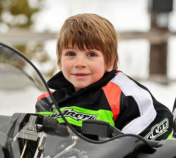 Snowmobiling is for all ages